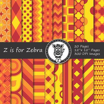 Digital Paper Pack Autumn 3 - CU ok { ZisforZebra}