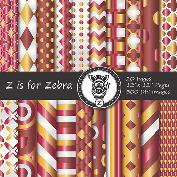 Digital Paper Pack Christmas gradient 5 - CU ok { ZisforZebra}
