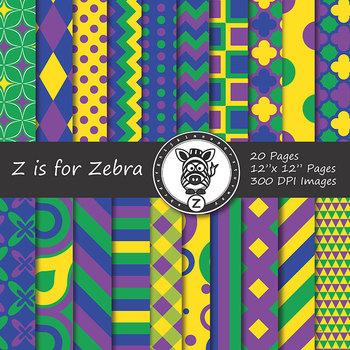 Digital Paper Pack Multicolored 13 - CU ok { ZisforZebra}