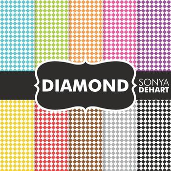 Digital Papers - Diamonds