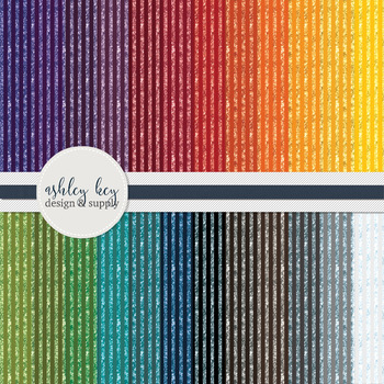 Digital Paper- Rainbow Glitter Papers- Commercial Use Pape