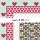 Digital Paper: Sweet Valentine Paper Pack