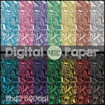 Digital Paper Wood Chip Earthy Background Texture {Messare