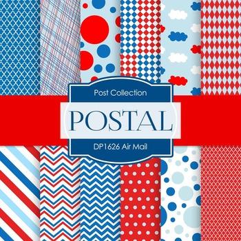 Digital Papers - Air Mail (DP1626)