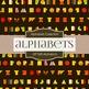Digital Papers - Alphabets (DP1500)