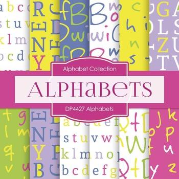 Digital Papers - Alphabets (DP4427)