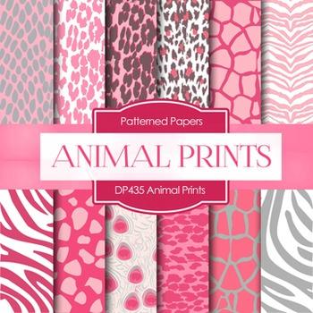 Digital Papers - Animal Prints (DP435)