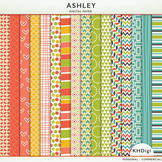 """Digital Papers - """"Ashley"""""""