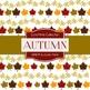Digital Papers - Autumn Prints (DP879)