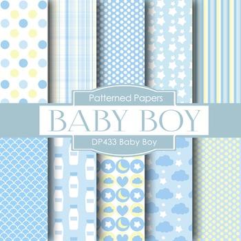 Digital Papers - Baby Boy (DP433)