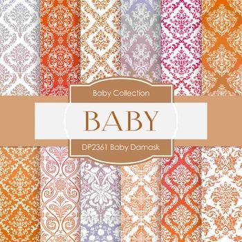 Digital Papers - Baby Damask (DP2361)