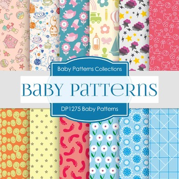 Digital Papers - Baby Patterns (DP1275)