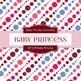 Digital Papers - Baby Princess (DP1278)