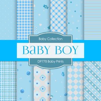 Digital Papers - Baby Prints (DP778)