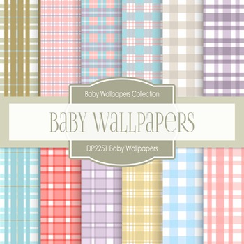 Digital Papers - Baby Wallpapers (DP2251)