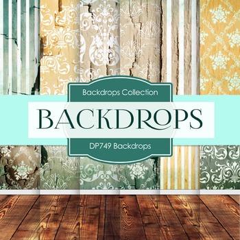 Digital Papers - Backdrops  (DP749)
