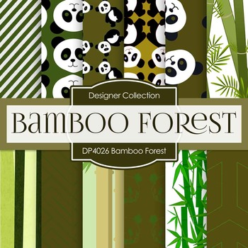 Digital Papers - Bamboo Forest (DP4026)