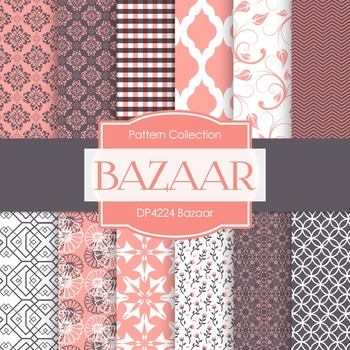 Digital Papers - Bazaar (DP4224)