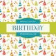 Digital Papers - Birthday Girl (DP4824)