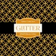 Digital Papers - Black Glitter (DP4270)