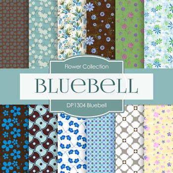 Digital Papers - Bluebell (DP1304)