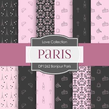 Digital Papers - Bonjour Paris (DP1262)