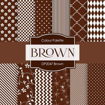 Digital Papers - Brown (DP2047)