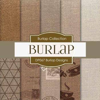 Digital Papers - Burlap Designs (DP067)