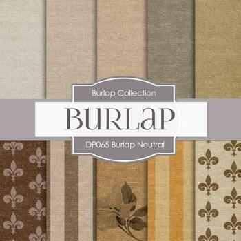 Digital Papers - Burlap Textures (DP065)