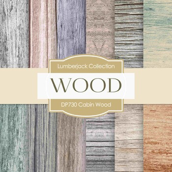 Digital Papers - Cabin Wood (DP730)