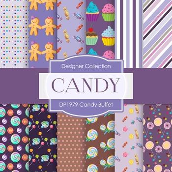 Digital Papers - Candy Buffet (DP1979)
