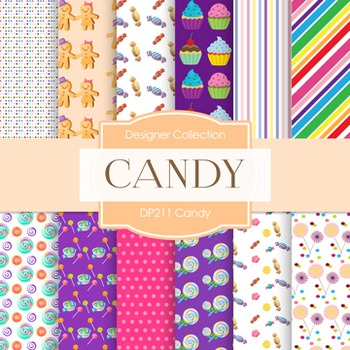 Digital Papers -  Candy (DP211)