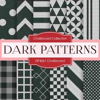 Digital Papers -  Chalkboard Patterns (DP4061)