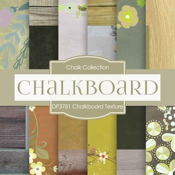 Digital Papers - Chalkboard Texture (DP3781)