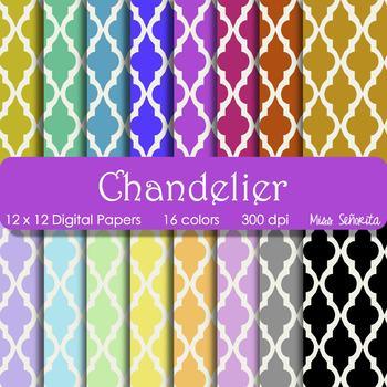 Digital Papers - Chandelier