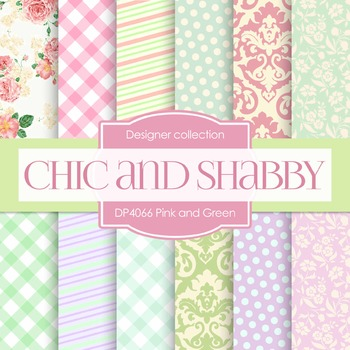 Digital Papers - Chic And Shabby (DP4066)