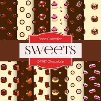Digital Papers - Chocolate (DP787)