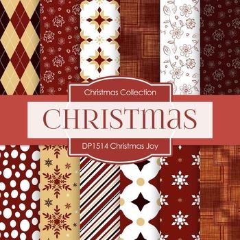 Digital Papers - Christmas Joys (DP1514)