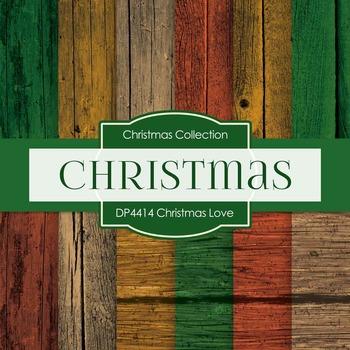Digital Papers - Christmas Love (DP4414)