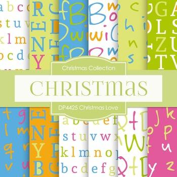 Digital Papers - Christmas Love (DP4425)