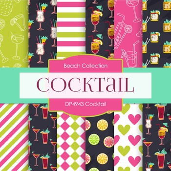 Digital Papers - Cocktail (DP4943)