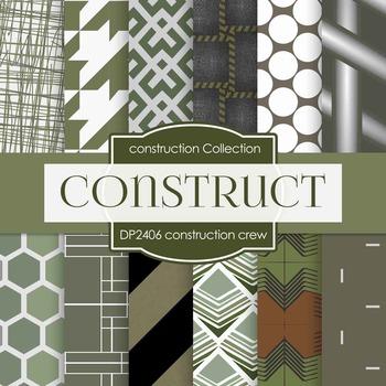 Digital Papers - Construction Crew (DP2406)
