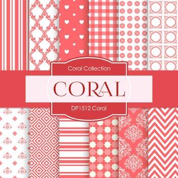 Digital Papers - Coral (DP1512)
