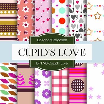 Digital Papers - Cupid's Love (DP1743)