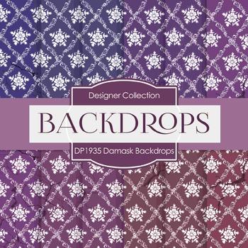 Digital Papers - Damask Backdrops  (DP1935)