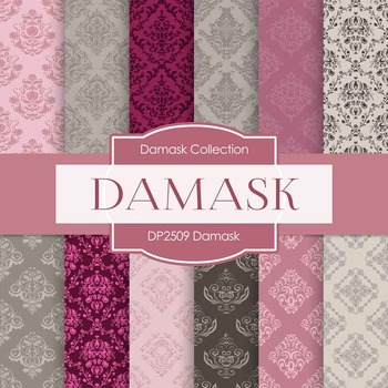 Digital Papers - Damask (DP2509)