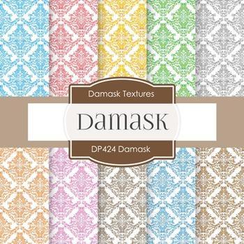 Digital Papers - Damask (DP424)