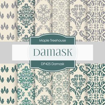 Digital Papers - Damask (DP425)
