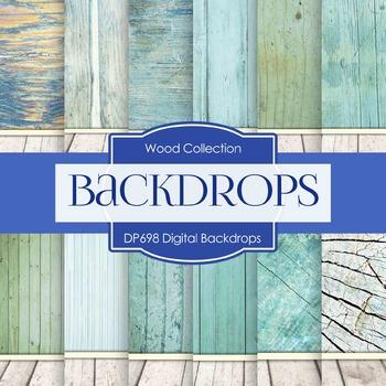 Digital Papers - Digital Backdrops (DP698)