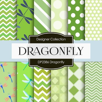 Digital Papers - Dragonfly (DP2386)